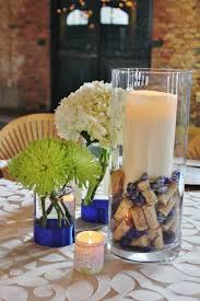 Impressive Wine Cork Centerpieces For Wedding Spotlight On Wine La Petite  Fleur Blog