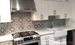 tile backsplash concrete tile in c design in black and white in home penny tile backsplash diy