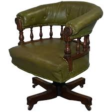 victorian office furniture. Rare \u0026 Genuine Victorian, Circa 1860 Chesterfield Buttoned Captains Office  Chair Victorian Office Furniture