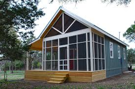 image of small cottage plans with screened porch modular