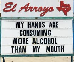 Texan Restaurant Writes Hilarious Signs Every Day