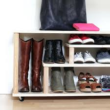 build a shoe rack shoe rack for the entryway or mudroom diy shoe rack in closet