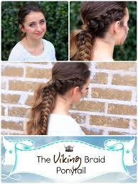 Viking Hairstyle Female viking braid ponytail cute girls hairstyles cute girls 2979 by wearticles.com