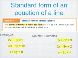 writing linear equations finding the x intercept and y standard form equation calculator standard form linear
