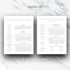 Professional Resume Template Modern Resume Template Resume