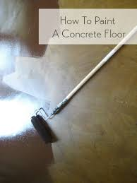 paint concrete floorsPainting Wood Or Concrete Floors Has Never Been Easier Check Out