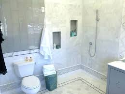 tile accent wall in bathroom accent wall bathroom spa bathroom with marble hex tile accent wall