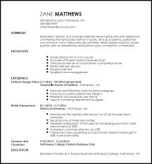 What To Include In A Resume Classy Free Entry Level Fashion Assistant Buyer Resume Template ResumeNow