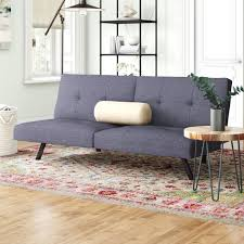 Zipcode Design Reviews Benito Convertible Sofa Sofa Upholstery Sofa Grey Futon