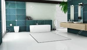 3d Bathroom Tiles Interior Of Contemporary Bathroom Design With Granite Tiles And