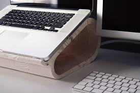 Macbook Pro Display Stand New Wooden MacBook Pro Stand  MacDaddyNews