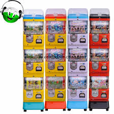 Vending Machine Toy Beauteous China Three Layer Coin And Token Operated Toy Capsule Vending