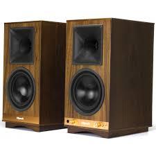 klipsch powered speakers. klipsch the sixes heritage wireless powered speakers (walnut)