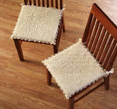 dinning room furniture chair pads with ties dining room chair pads