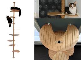 spoil your cat in style with one of these seven modern design cat trees and