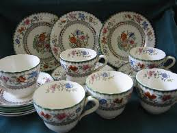 Spode China Patterns Cool Staffordshire Copeland Spode Tea Or Coffee Set Chinese Rose Pattern