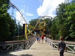 the loch ness monster ride at busch gardens williamsburg va