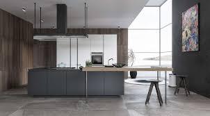 Black And White Modern Kitchen Black White Wood Kitchens Ideas Inspiration