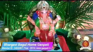 bhargavi bagul home ganpati decoration video ideas www ganpati