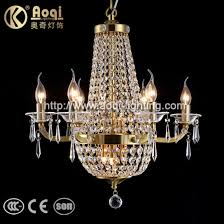 newest design brass color metal crystal chandelier light