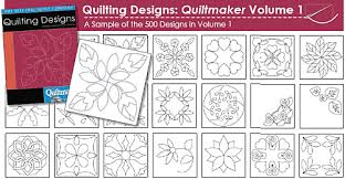 10% off Quilting Designs The Quiltmakers Collection Vol 1 ... & Design Examples Adamdwight.com