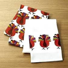 kohls dish towels cheerful turkeys dish towels set of colorful strut on our whimsical thanksgiving kohls dish towels