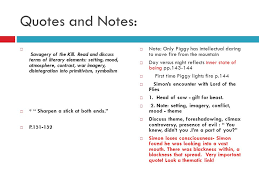 lord of the flies william golding ppt  46 quotes