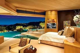 Mansion Master Bedroom The Late Desert Mansions Master Bedroom Has A Pool  That Begins At The . Mansion Master Bedroom ...