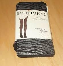 Bootights Boot Tights Shelby Mason Ankle Socks Sahara Size C Black Ebay