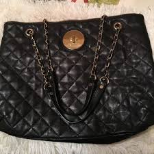 90% off DKNYC Handbags - DKNY Black Leather bag Awesome Braided ... & DKNY authentic leather quilted black bag VGUC Adamdwight.com