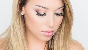 pink holiday eye makeup tutorial
