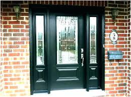 Cool Front Door Designs With Sidelights Dazzling Blue Front Door And