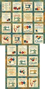 272 best Cotton Novelty Prints images on Pinterest | Ice hockey ... & A Stitch in Time - Quilting Love Blocks - 24 x 44 PANEL Quilt fabric online  store Largest Selection, Fast Shipping, Best Images, Ship Worldwide Adamdwight.com