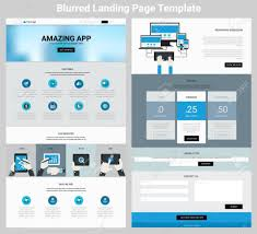 Material Design Website Template 017 Material Design Responsive Landing Page Or One Website