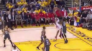 James Harden dunk video: Draymond Green ran over in Game 4 ...