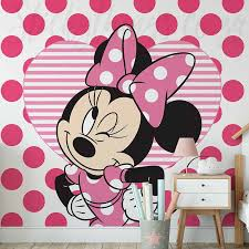 minnie mouse wallpaper mural disney