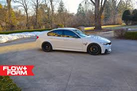 BMW Convertible full name for bmw : Alpine White BMW F80 M3 With HRE FlowForm Wheels