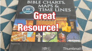 Rose Bible Maps And Charts Quick Review Rose Publishing Book Of Bible Charts Maps Time Lines