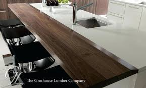 how to finish wood countertops in kitchen custom walnut wood counters for kitchen islands in finish how to finish wood countertops