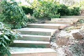 outdoor steps design stairs pathways landscape management inc wooden stair railing designs thermal treads