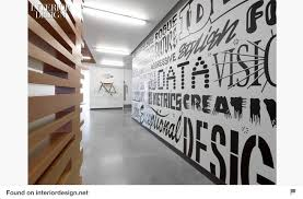 office wall murals. Typographic Office Wall Mural Murals S