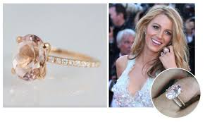 unique celebrity engagement rings abby sparks jewelry