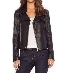 buzy women biker leather jackets2 black leather jacket