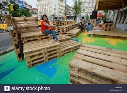palettes furniture. Furniture Made From Palettes, Which Are Originally Designed For Transportation Of Goods, Becomes More And Popular Mainly Among Cafes Or Social Centres. Palettes