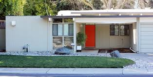 Magnificent Mid Century Modern Homes Redoubtable White Small House ...