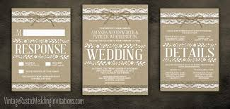 Burlap And Lace Wedding Invitations Lace And Burlap Wedding Invitations Lace And Burlap Wedding
