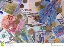 Euro Franco Svizzero Del Dollaro Astratto E Fondo Delle Monete Fotografia  Stock - Immagine di frank, franco: 95927566
