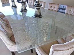 frosted glass table top shattered glass table top contemporary dining room frosted tempered glass table top