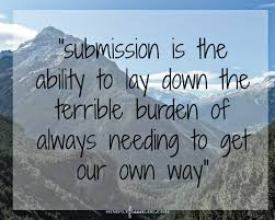 Image result for true submission
