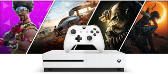 all xbox one games fortnite forza horizon 4 fallout 76 and shadow of the tomb raider graphics behind